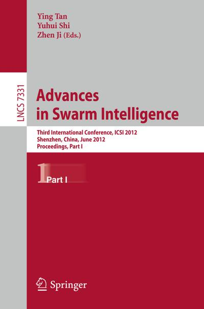 Advances in Swarm Intelligence - Ying Tan