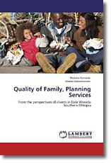 Quality of Family, Planning Services - Kondale, Mekdes / Gebremariam, Abebe