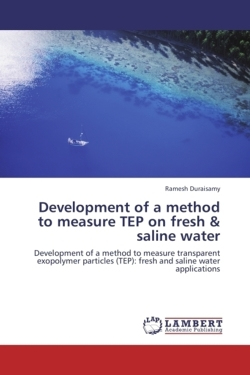 Development of a method to measure TEP on fresh & saline water