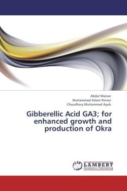 Gibberellic Acid GA3; for enhanced growth and production of Okra