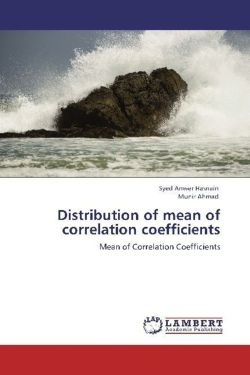 Distribution of mean of correlation coefficients - Hasnain, Syed Anwer / Ahmad, Munir