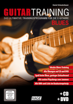 Guitar Training Blues + CD + DVD: Das ultimative Trainingsprogramm für die E-Gitarre