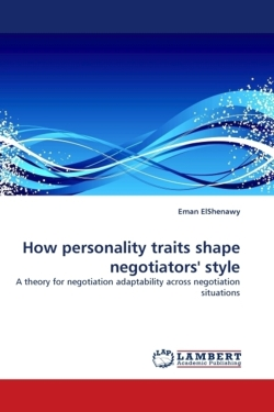 How personality traits shape negotiators' style