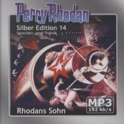 Perry Rhodan, Silber Edition - Rhodans Sohn (remastered), 2 MP3-CDs
