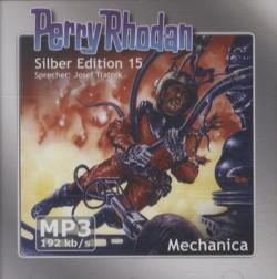 Perry Rhodan, Silber Edition - Mechanica (remastered), 2 MP3-CDs