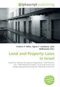 Land and Property Laws in Israel