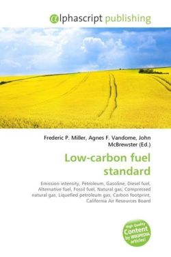 Low-carbon fuel standard
