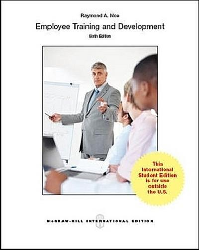 Employee Training & Development - Raymond A. Noe