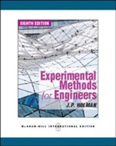 Experimental Methods for Engineers - Jack P. Holman