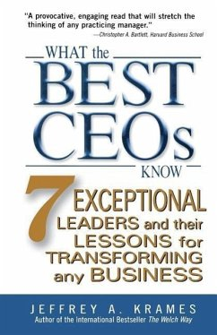 What the Best Ceos Know - Krames, Jeffrey A.