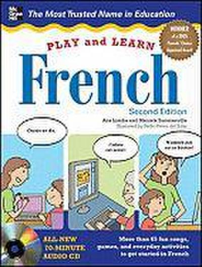 Play and Learn French with Audio CD - Ana Lomba
