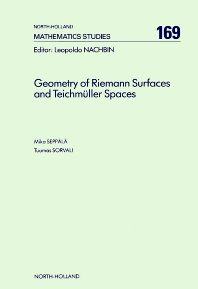 Geometry of Riemann Surfaces and Teichmüller Spaces