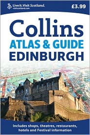 Edinburgh Atlas & Guide - Collins UK