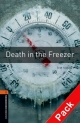 Oxford Bookworms Library: Stage 2: Death in the Freezer Audio CD Pack