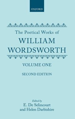 The Poetical Works of William Wordsworth: Volume One - Wordsworth, William