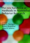 The New Handbook of Methods in Nonverbal Behavior Research