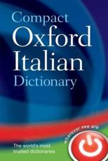 Compact Oxford Italian Dictionary - Oxford Dictionaries