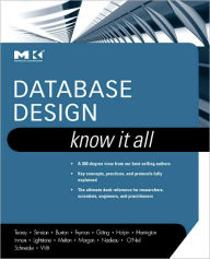 Database Design: Know It All - Toby J. Teorey