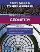 Prentice Hall Mathematics Geometry: Study Guide & Practice Workbook