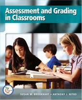 Assessment and Grading in Classrooms - Brookhart, Susan M. / Nitko, Anthony J.