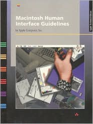 Macintosh Human Interface Guidelines - Apple Computer Inc., Inc Staff Apple Computer