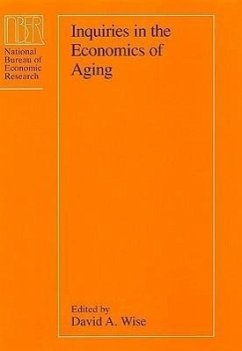 Inquiries in the Economics of Aging - Herausgeber: Wise, David A.
