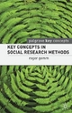 Key Concepts in Social Research Methods - Roger Gomm