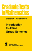 Waterhouse, W. C.: Introduction to Affine Group Schemes