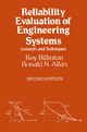 Reliability Evaluation of Engineering Systems - Roy Billinton; Ronald N. Allan