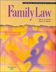 Black Letter on Family Law - Harry D. Krause