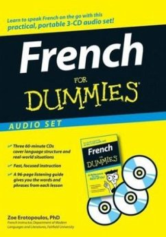 French for Dummies, 3 Audio-CDs + listening guide - Erotopoulos