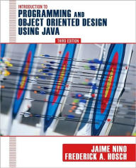 An Introduction to Programming and Object-Oriented Design Using Java - Jaime Ni?o