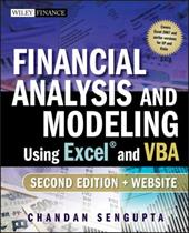 Financial Analysis and Modeling Using Excel and VBA [With CDROM] - Sengupta, Chandan