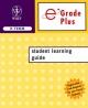 Egrade Plus 2 Semester Student Learning Guide T/a Cutnell 6e and Halliday 7e - I Wiley & Sons