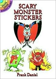 Scary Monster Stickers - Frank Daniel