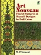 Art Nouveau Patterns and Stencil Designs - M. P. Verneuil