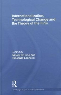 Internationalization, Technological Change and the Theory of the Firm - Herausgeber: de Liso, Nicola Leoncini, Riccardo