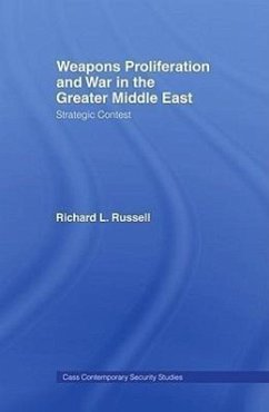 Weapons Proliferation and War in the Greater Middle East: Strategic Contest - Russell, Richard L.