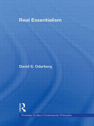 Real Essentialism - David S. Oderberg