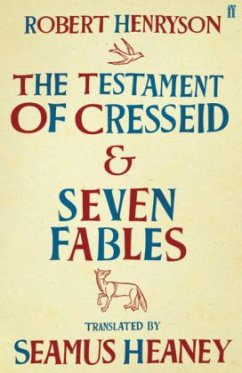 The Testament of Cresseid and Seven Fables - Heaney, Seamus