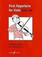 First Repertoire for Viola, Book One