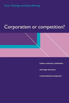 Corporatism or Competition?: Labour Contracts, Institutions and Wage Structures in International Comparison - Teulings, Coen Hartog, Joop