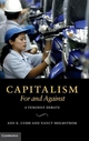 Capitalism, For and Against - Ann E. Cudd; Nancy Holmstrom