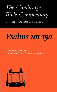 Psalms 101-150 - Rogerson, John William / McKay, John William