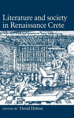 Literature Soc in Renaissance - Holton, David (ed.)