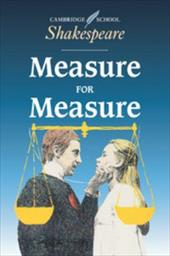 Measure for Measure - Shakespeare, William / Gibson, Rex / Coles, Jane