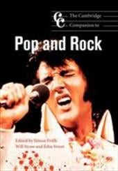The Cambridge Companion to Pop and Rock - Frith, Simon / Straw, Will / Street, John