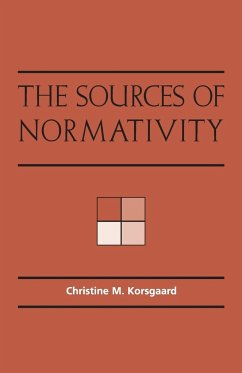 The Sources of Normativity - Korsgaard, Christine