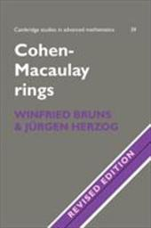 Cohen-Macaulay Rings - Bruns, Winfried / Bruns / Jurgen