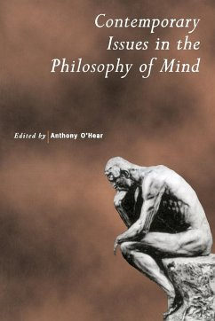 Contemporary Issues in the Philosophy of Mind - O'Hear, Anthony